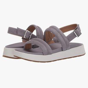 Ugg Lynnden Buckled Grey Sandals Size 7